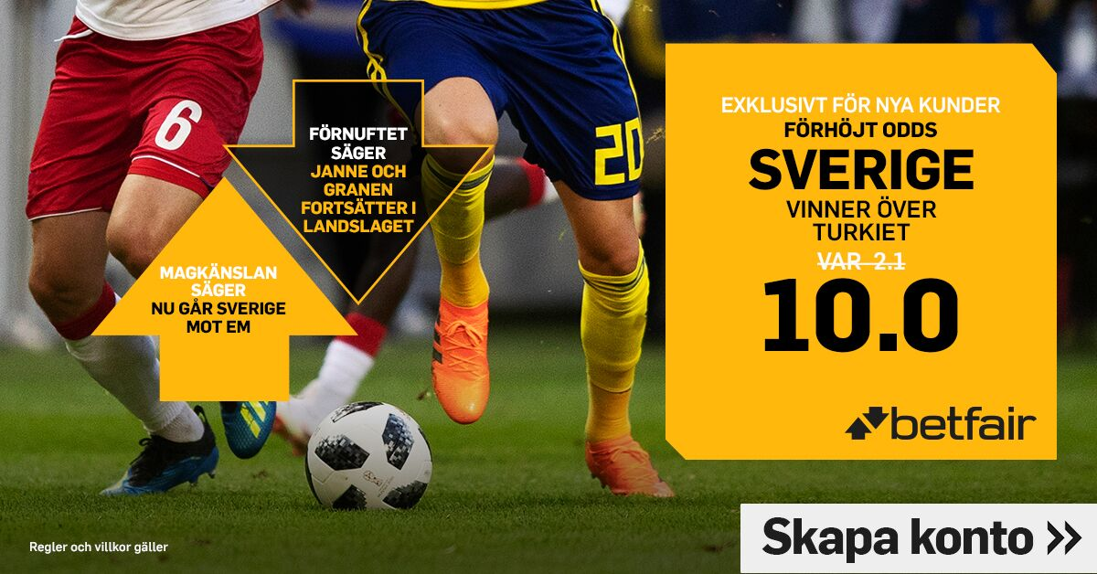 Boostade odds från Nations League!